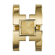 Tory Burch Sawyer Ladies' Gold Tone Cuff Bracelet Watch - Product number 2361957