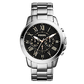 Fossil men's chronograph stainless steel bracelet watch - Product number 2363011