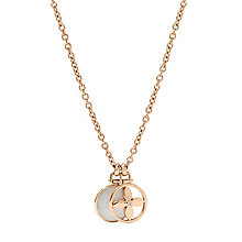 Fossil ladies' gold-plated motif necklace - Product number 2363186