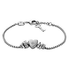 Fossil stainless steel Vintage Motifs bracelet - Product number 2363372