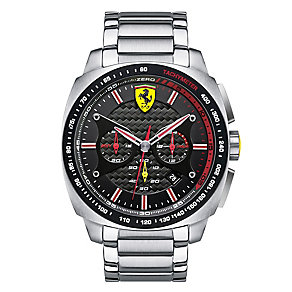 Scuderia Ferrari Aero men's stainless steel bracelet watch - Product number 2363410