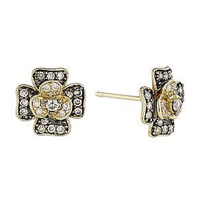 Le Vian 14ct Honey Gold Vanilla Diamond stud earrings - Product number 2364492