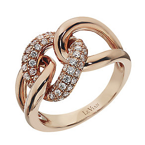 Le Vian 14ct Strawberry Gold Vanilla Diamond ring - Product number 2364611