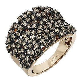 Le Vian 14ct Strawberry Gold Chocolate Diamond ring - Product number 2365057
