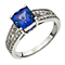 Le Vian 14ct Vanilla Gold tanzanite & Vanilla Diamond ring - Product number 2365715