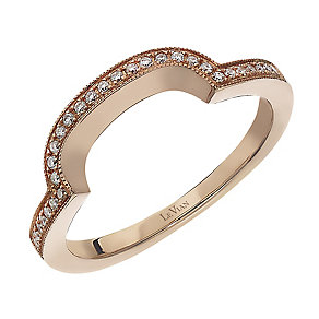 Le Vian 14ct Strawberry Gold diamond wedding ring - Product number 2366711