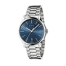 Gucci G-timeless slim men's stainless steel bracelet watch - Product number 2378515