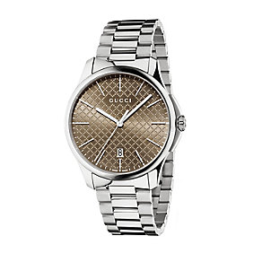 Gucci G-timeless men's stainless steel bracelet watch - Product number 2378523
