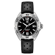 TAG Heuer F1 men's black rubber strap watch - Product number 2378655