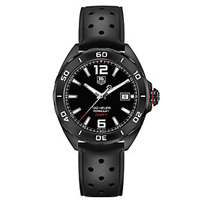 TAG Heuer F1 men's black rubber strap watch - Product number 2378663