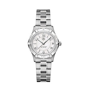 TAG Heuer Aquaracer ladies' two colour bracelet watch - Product number 2383721