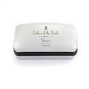 Decorative Wedding Father of the Bride Cufflink Box - Product number 2391732