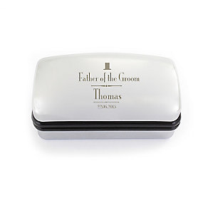 Decorative Wedding father of the Groom Cufflink Box - Product number 2391740