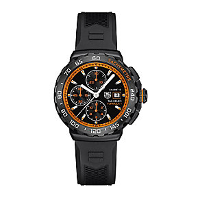 TAG Heuer F1 men's chronograph black rubber strap watch - Product number 2391775
