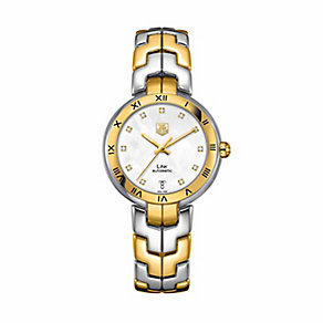 TAG Heuer Link ladies' two colour bracelet watch - Product number 2391791