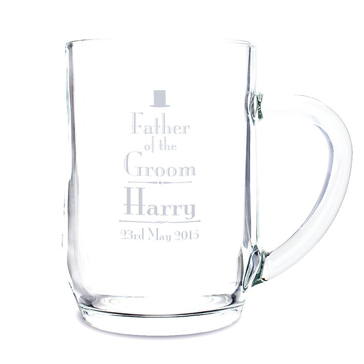 Decorative Wedding Father of the Groom Tankard - Product number 2391996