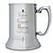 Decorative Father of the Groom Stainless Steel Tankard - Product number 2392119