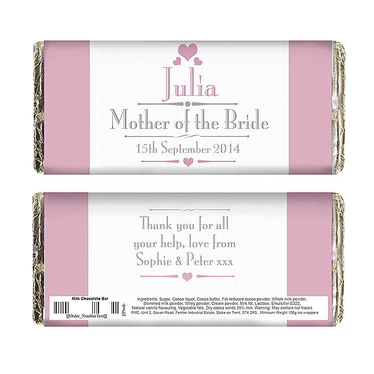 Decorative Wedding Female Chocolate Bar - Product number 2392194