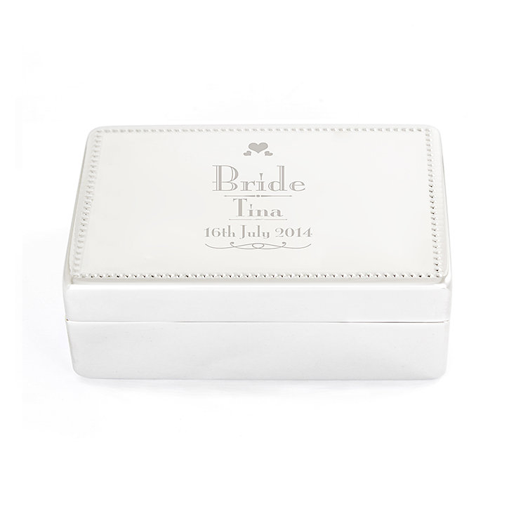 Decorative Wedding Bride Jewellery Box - Product number 2393867