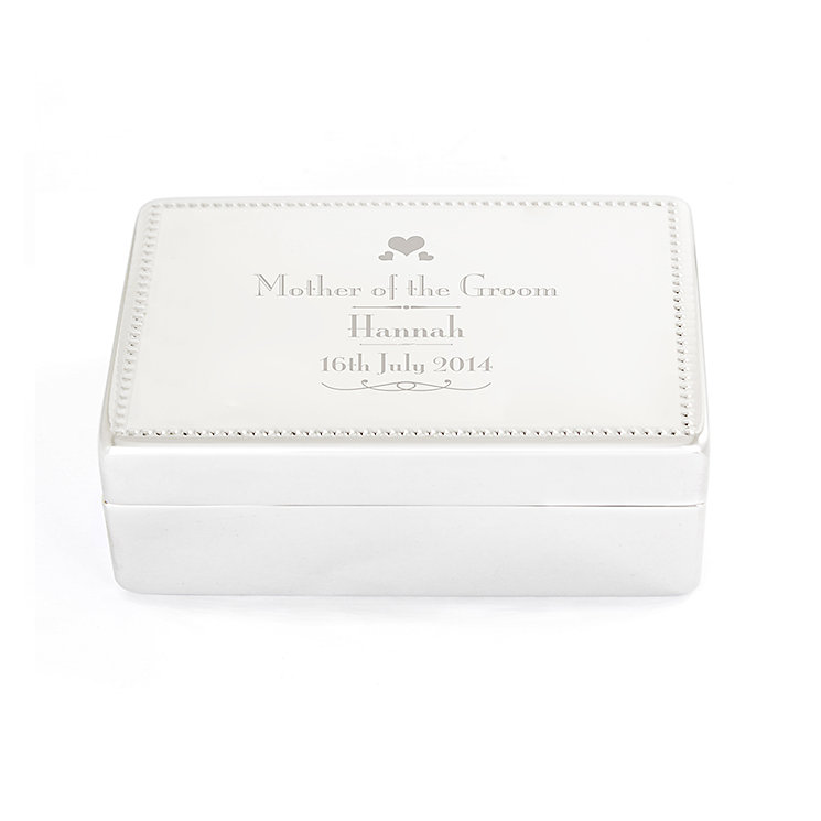 Decorative Wedding Mother of the Groom Jewellery Box - Product number 2393875