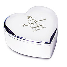 Decorative Wedding Maid of Honour Heart Trinket - Product number 2393905