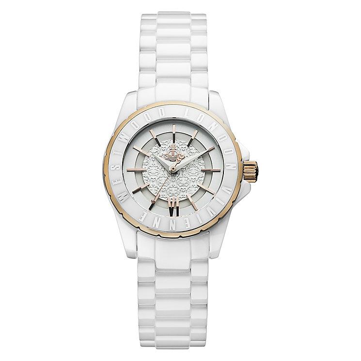 Vivienne Westwood Sloane ladies' ceramic bracelet watch - Product number 2397382