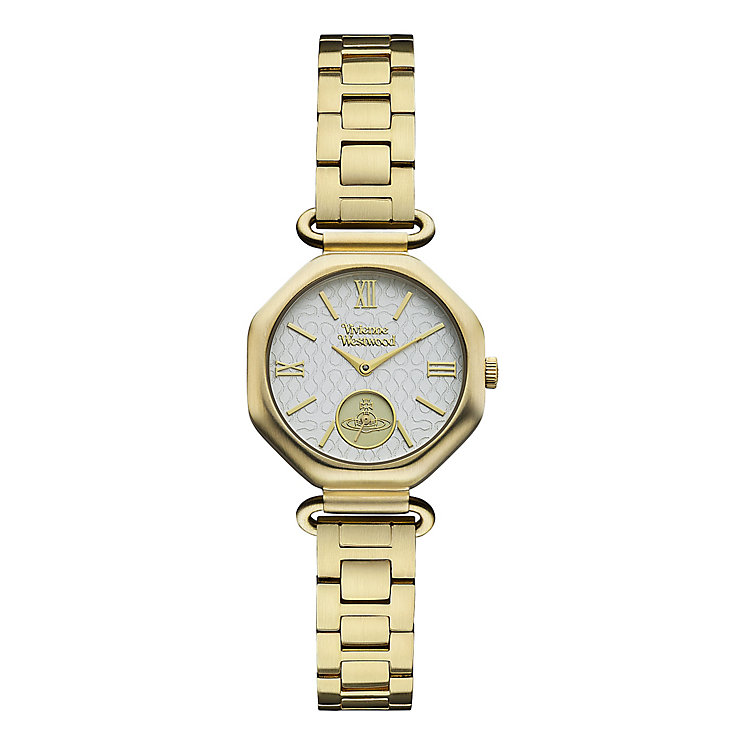 Vivienne Westwood ladies' gold-plated bracelet watch - Product number 2397498