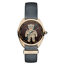 Vivienne Westwood Bear black leather strap watch - Product number 2397536