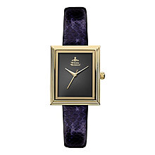 Vivienne Westwood Berkeley purple leather strap watch - Product number 2397617