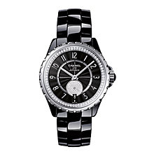 Chanel J12 Black Ceramic Bracelet Watch Diamond Set - Product number 2397722
