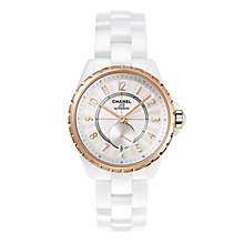 Chanel J12 365 White High-tech Ceramic 18k Beige Gold Watch - Product number 2397730
