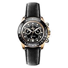 Vivienne Westwood Barbican men's black leather strap watch - Product number 2397773
