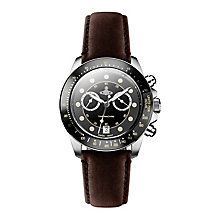 Vivienne Westwood Barbican men's brown leather strap watch - Product number 2397803