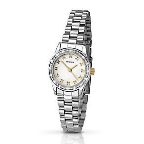 Sekonda Ladies' Crystal Set Two Colour Watch - Product number 2399563