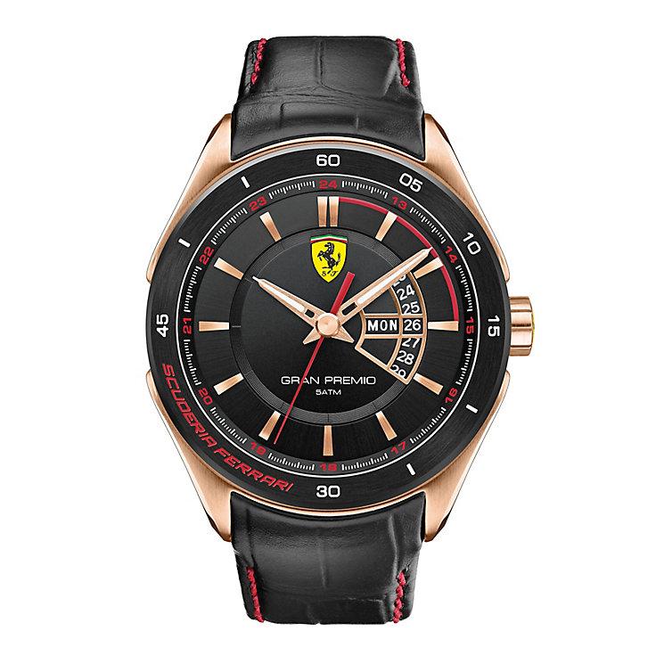 Scuderia Ferrari Grand Premio men's strap watch - Product number 2399636