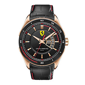 Scuderia Ferrari Grand Premio men's strap watch - Product number 2399636