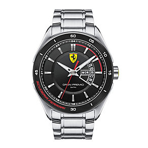 Scuderia Ferrari men's stainless steel bracelet watch - Product number 2399644
