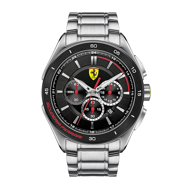 Scuderia Ferrari men's stainless steel bracelet watch - Product number 2399652