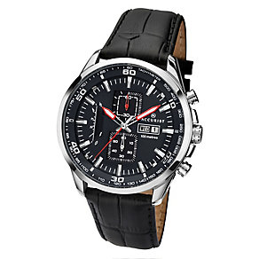 Accurist Men's Stainless Steel Chronograph Watch - Product number 2399822