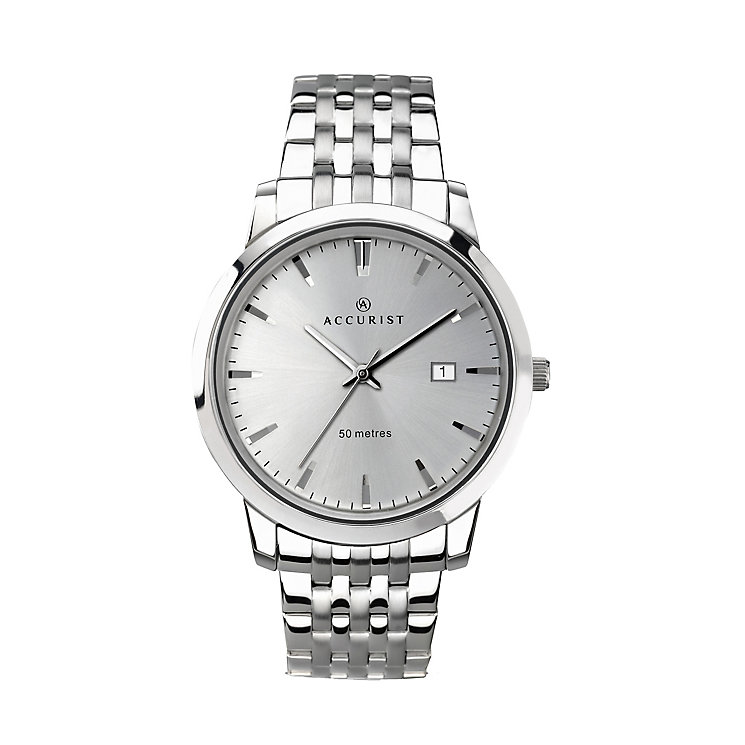 Accurist Men's Stainless Steel Bracelet Strap Watch - Product number 2399970