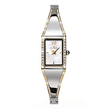 Accurist White Mother of Pearl Dial Bangle Watch - Product number 2400081