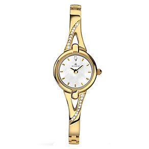 Accurist Ladies' White Mother of Pearl Bracelet Watch - Product number 2400189