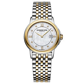 Raymond Weil ladies' diamond set two colour bracelet watch - Product number 2400324