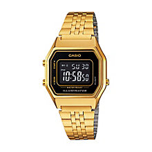 Casio Men's Yellow Gold Plated Digital Watch - Product number 2401169