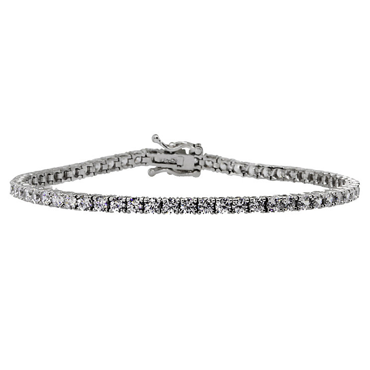 CARAT* sterling silver brilliant round tennis bracelet - Product number 2406179