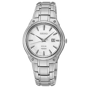 Seiko Ladies' Solar Stainless Steel Bracelet Watch - Product number 2437090