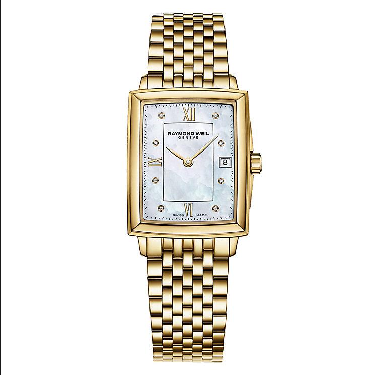 Raymond Weil Ladies' GoldTone Bracelet Watch - Product number 2469200