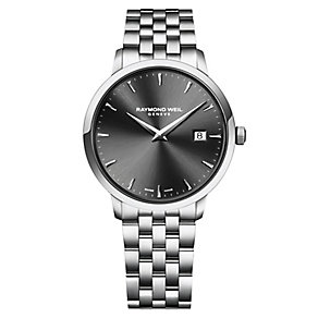 Raymond Weil Toccata men's stailess steel bracelet watch - Product number 2469227