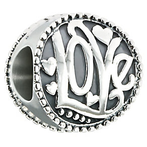 Chamilia Sterling Silver Groovy Kind Of Love Bead - Product number 2469332