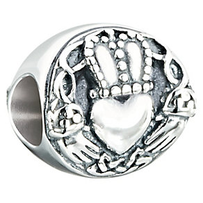 Chamilia Sterling Silver Claddagh Bead - Product number 2469367